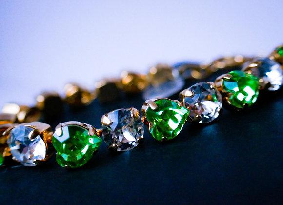 Emerald-Gold Bracelet