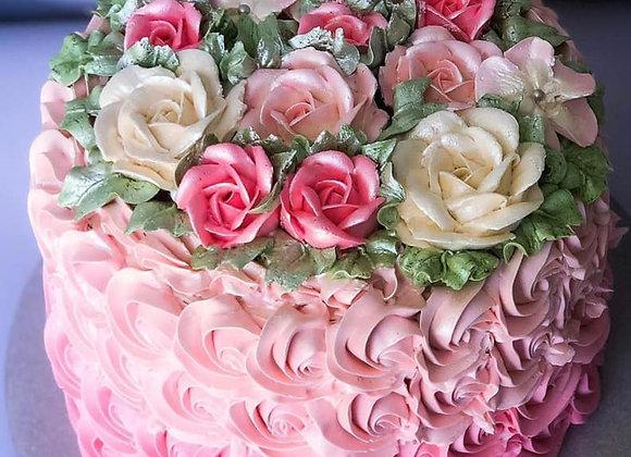 CLASSIC ROSETTE CAKE