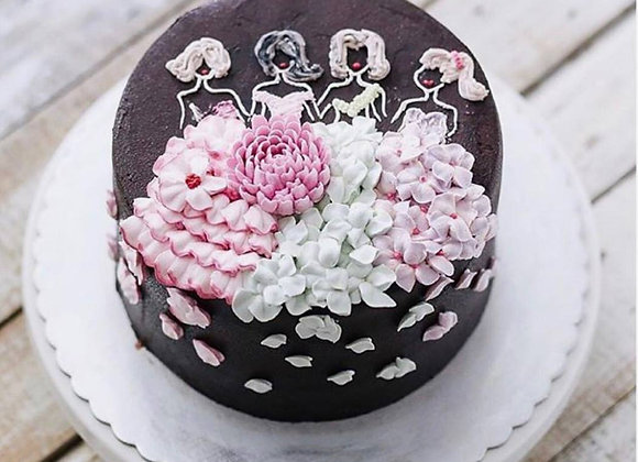 Bridesmaid Party Cake