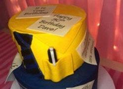 Custom Office Cake