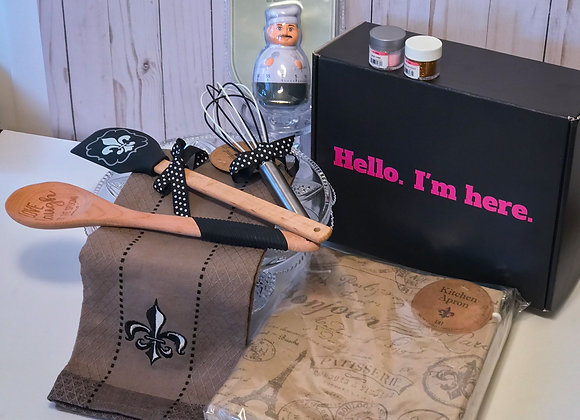 Fleur-de-lis Baker's Gift Box