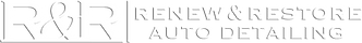 Renew & Restore Detailing Logo