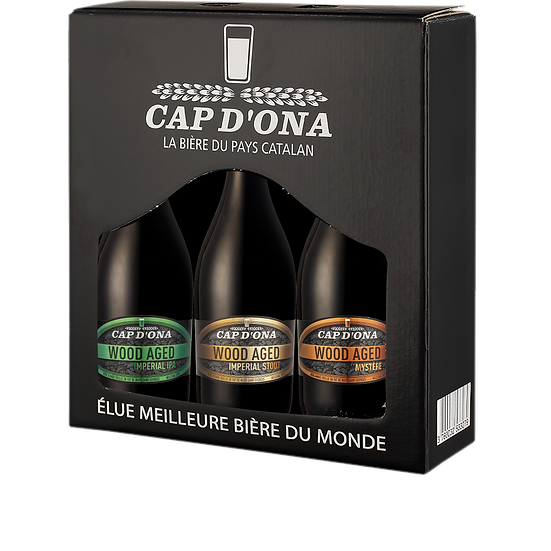 Coffret 3 x 75cl Wood Aged Imperial
