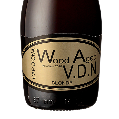 Wood Aged VDN Blonde 2018 12x33cl