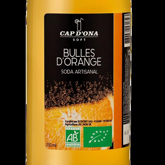CAP D'ONA soft Bulles d'orange BIO - 12x33cl