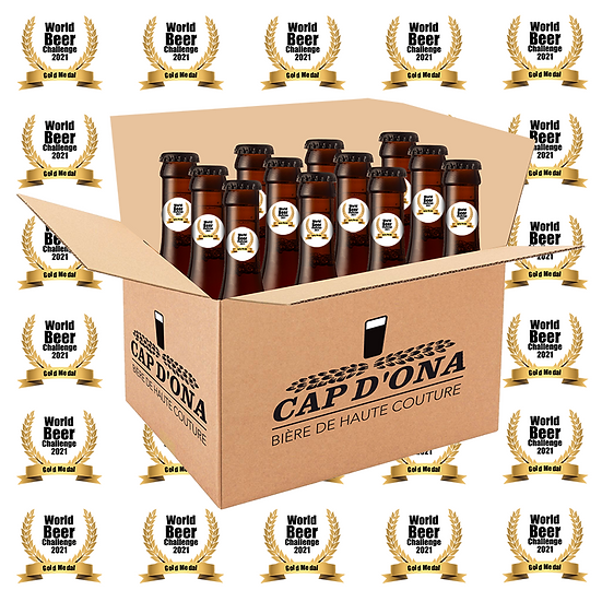 LE CARTON DES MEDAILLES World Beer Challenge 12x33cl