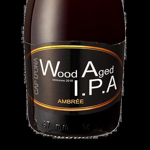 Wood Aged IPA Ambrée 2018 12x33cl