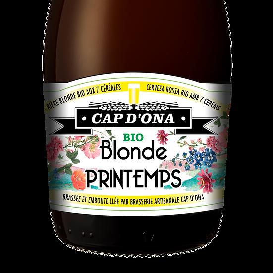 Blonde de Printemps BIO 12x33cl