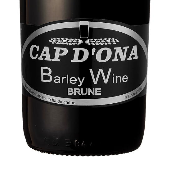 Barley Wine Brune 2019 6x75cl