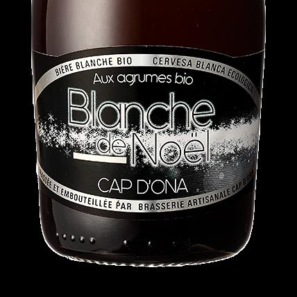 Blanche de Noel aux Agrumes  BIO 12x33cl