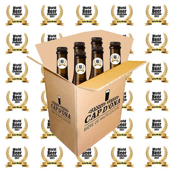 LE CARTON DES MEDAILLES World Beer Challenge 6x75cl