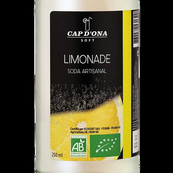 CAP D'ONA soft Limonade BIO - 12x33cl