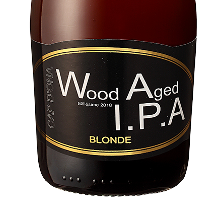 Wood Aged IPA Blonde 2018 12x33cl