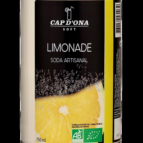CAP D'ONA soft Limonade BIO - 6x75cl