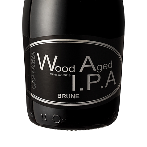 Wood Aged IPA Brune 2018 12x33cl
