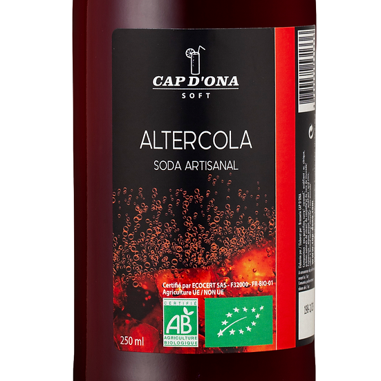 CAP D'ONA soft Alter cola - 12x33cl