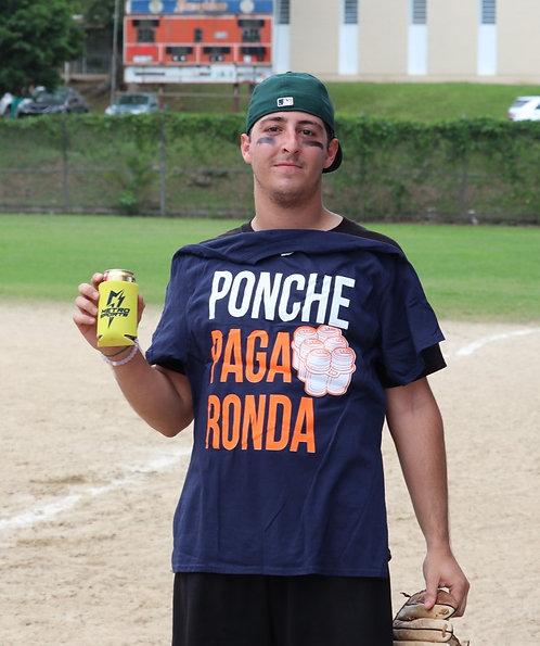 Ponche Paga Ronda T-Shirt