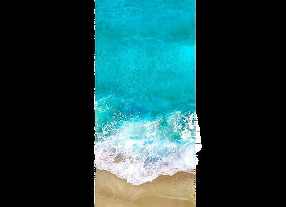 Коврик для йоги Ocean ID из микрофибры и каучука