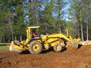 Pushing dirt around