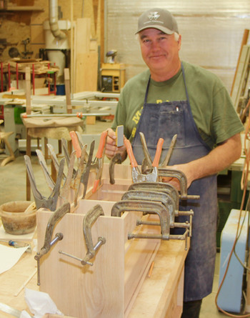 Ken and never to many clamps