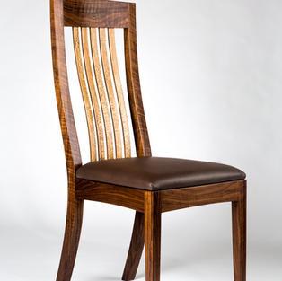 Flex back dining chair
