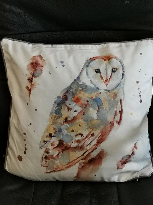 Country Life Barn Owl Cushion