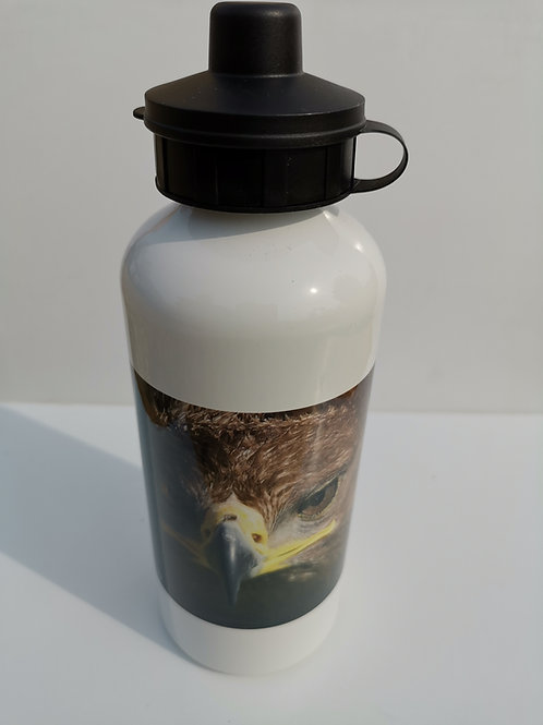 Logan White Water Bottle