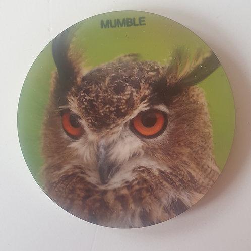 """Mumble"" European Eagle Owl Magnet"