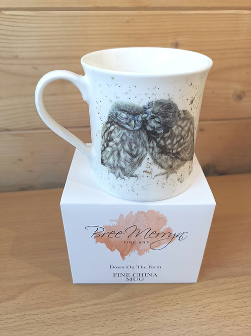 Little Owls China mug