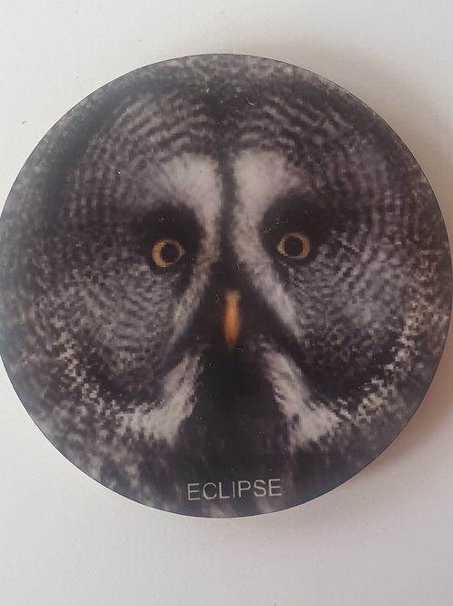 """Eclipse"" Great Grey Owl Magnet"