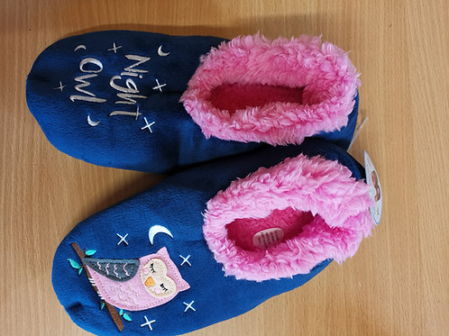 Snoozies Night Owl slippers