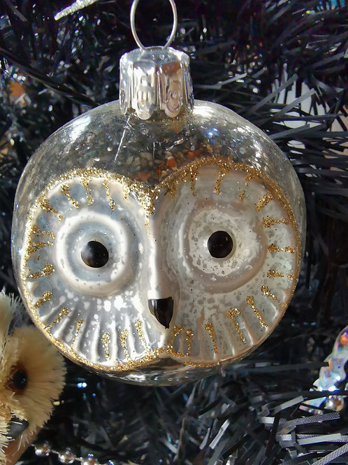 Owl Face Bauble