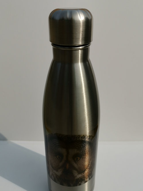 Eclipse Silver Thermal Bottle