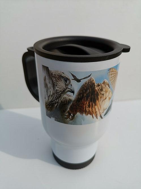 Wild Wings Banner Thermal Travel Mug
