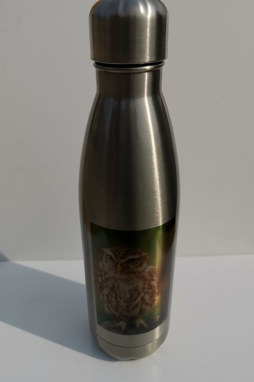 Nugget Silver Thermal Bottle