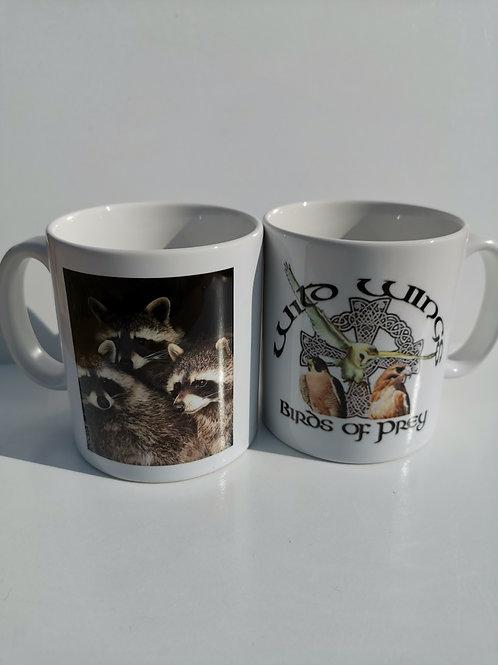 Raccoons Wild Wings Mug