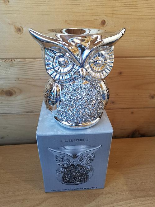 Silver Glitz Owl Melter