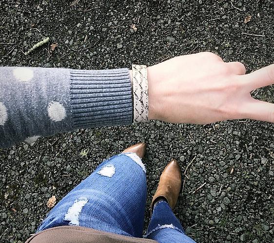 """NORTH SHORE"" Leather Bracelets"