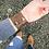 "Thumbnail: ""CLASSIC"" Leather Slit Cuff Bracelet"