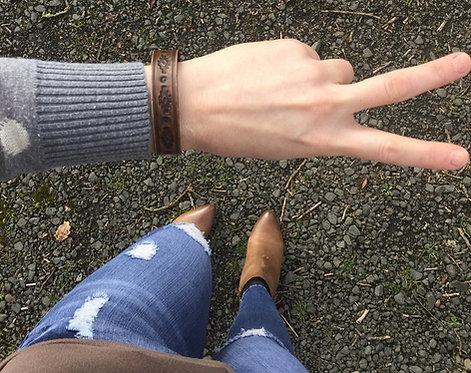 """""""MOJAVE"""" Leather Bracelets"""