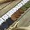 "Thumbnail: SKU# LLE2 ""LEAF"" Leather Teardrop Earrings"