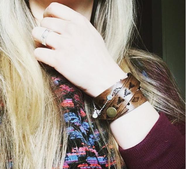 Handmade_Leather_Southwestern_Triple_Wrap_Bracelets_1