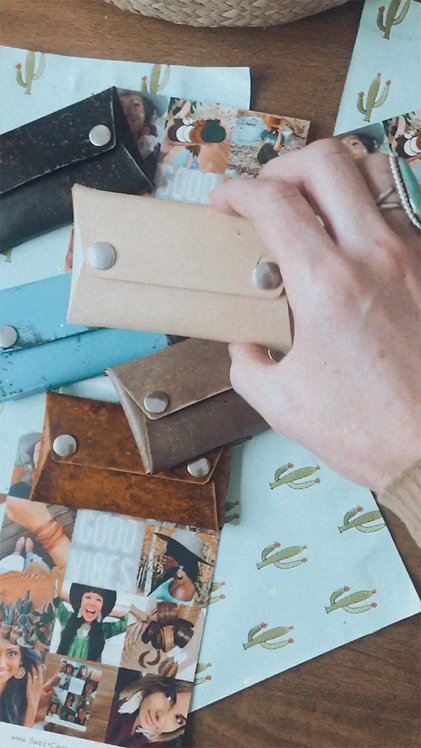 """Handmade """"Classic"""" Style Leather Card Holders"""