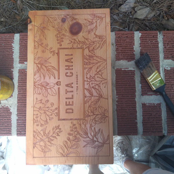 Building the sign for my room