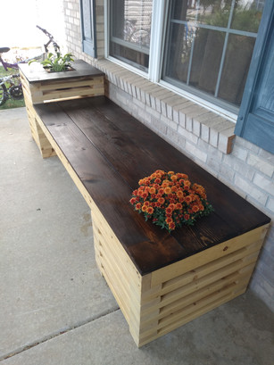 Building my mom bench