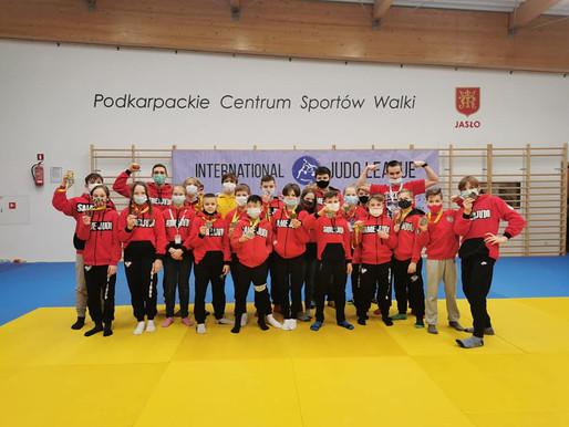 Wielki sukces zawodników Klubu SameJudo podczas International Judo League!