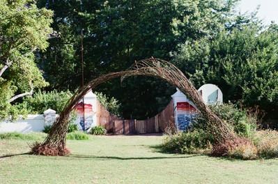 Leaf archway