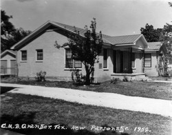 New Parsonage side view 1952