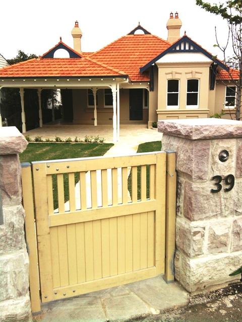 Decorative custom gate_unpainted