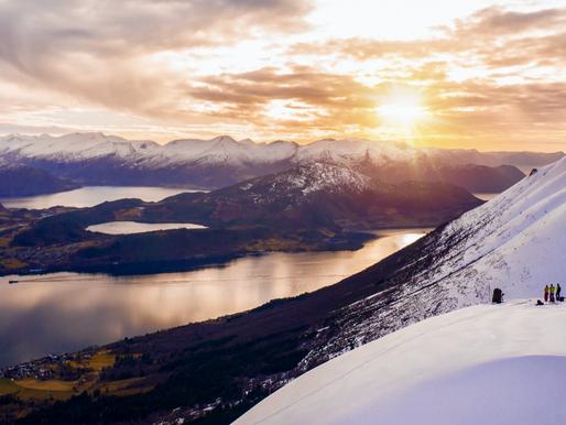 Zimní Norsko